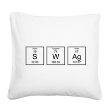 Periodic Table SWAg Square Canvas Pillow