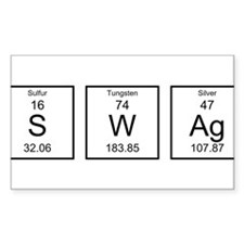 Periodic Table SWAg Decal