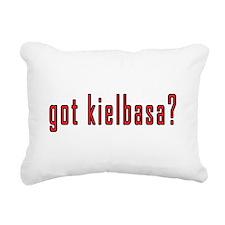 got kielbasa? Rectangular Canvas Pillow