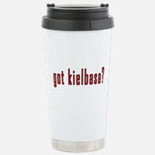 got kielbasa? Stainless Steel Travel Mug