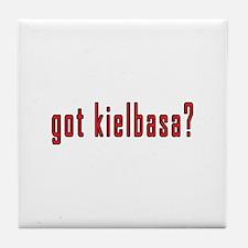 got kielbasa? Tile Coaster