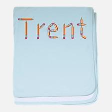 Trent Pencils baby blanket