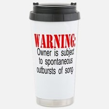 Unique Singing Travel Mug