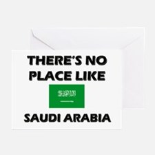 There Is No Place Like Saudi Arabia Greeting Cards