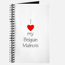 I Love My Belgian Malinois Journal