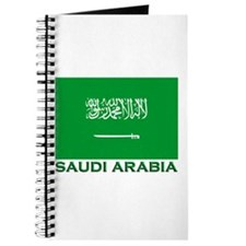 Saudi Arabia Flag Merchandise Journal