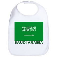 Saudi Arabia Flag Merchandise Bib
