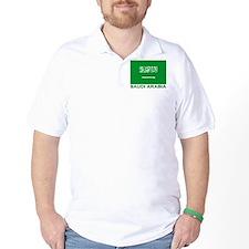 Saudi Arabia Flag Merchandise T-Shirt