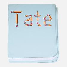 Tate Pencils baby blanket
