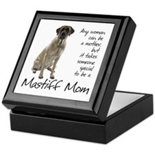 Mastiff Mom Keepsake Box