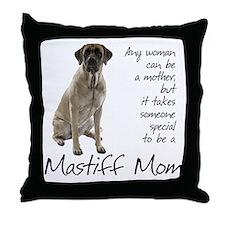 Mastiff Mom Throw Pillow