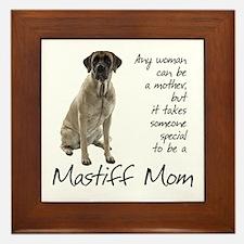 Mastiff Mom Framed Tile