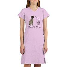 Mastiff Mom Women's Nightshirt