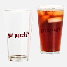 got paczki? Drinking Glass