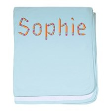 Sophie Pencils baby blanket