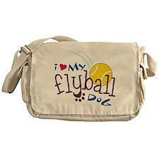 Fly Ball Dog Messenger Bag