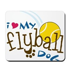 Fly Ball Dog Mousepad