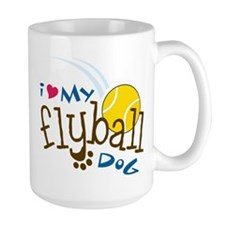 Fly Ball Dog Mug