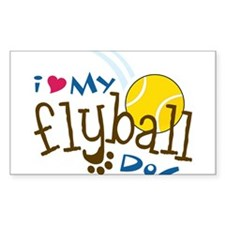 Fly Ball Dog Decal