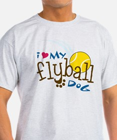 Fly Ball Dog T-Shirt