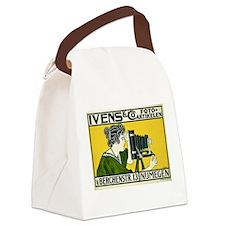Cute Camera Canvas Lunch Bag
