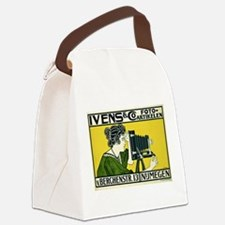 Cute Photography Canvas Lunch Bag