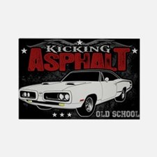 Kicking Asphalt - Super Bee Rectangle Magnet