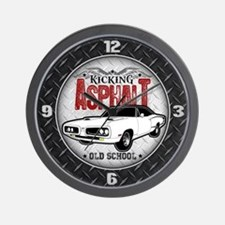 Kicking Asphalt - Super Bee Wall Clock