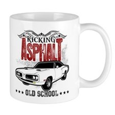 Kicking Asphalt - Super Bee Small Mug
