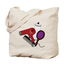 Hair Styling Supplies Tote Bag