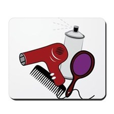 Hair Styling Supplies Mousepad