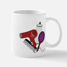 Hair Styling Supplies Mug