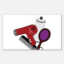 Hair Styling Supplies Decal