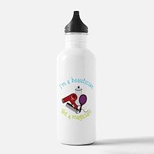 I'm A Beautician, Not a Magician! Water Bottle