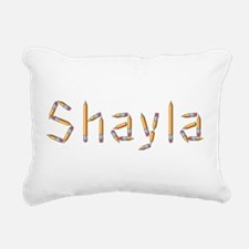 Shayla Pencils Rectangular Canvas Pillow