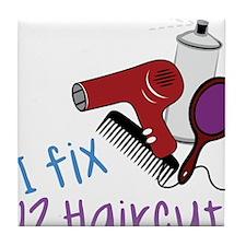 I Fix Tile Coaster