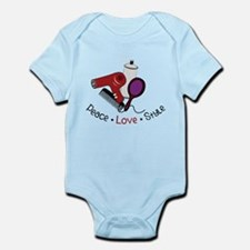 Peace Love Style Infant Bodysuit