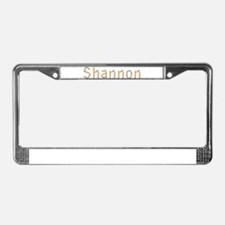 Shannon Pencils License Plate Frame