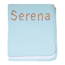 Serena Pencils baby blanket