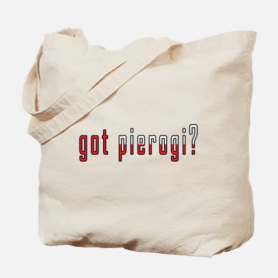 got pierogi? Flag Tote Bag