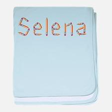 Selena Pencils baby blanket