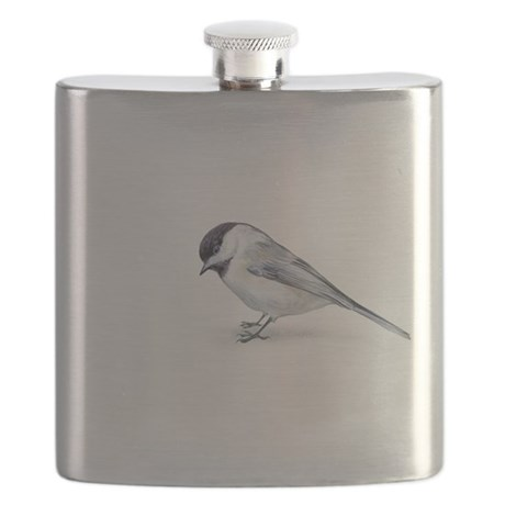 chickadee Flask