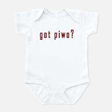 got piwo? Infant Bodysuit