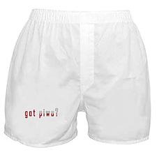 got piwo? Flag Boxer Shorts