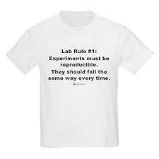 Lab Rule #1 - Kids T-Shirt