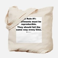 Lab Rule #1 - Tote Bag