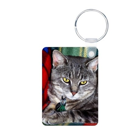 TOM CAT Aluminum Photo Keychain