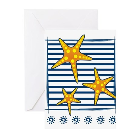 Star Fish Greeting Cards (Pk of 10)