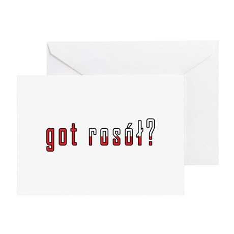 got rosol? Flag Greeting Card