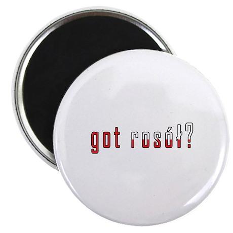 """got rosol? Flag 2.25"""" Magnet (100 pack)"""